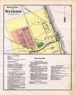 Watkins - North Part, Schuyler County 1874